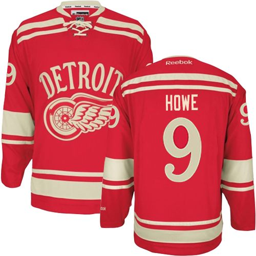 premium selection c258c 772aa Authentic #9 Gordie Howe Jersey: Wild Womens Youth Kids ...